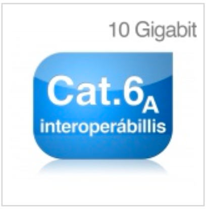 Cat 6<sub>A</sub> interoperábilis komponensek
